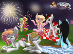 Happy 4th! 600 Watchers! by NubbyBunns
