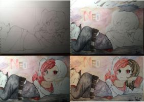 Aquarelle NEO - The Making Of by nibor289