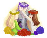 Ib : Flower Crowns by ChocoVanillaX