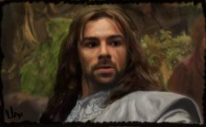 One very brave dwarf - Kili by NicolaMichelle