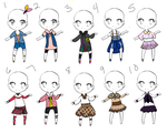Name Your Price OutFits 02 by Canaddicted