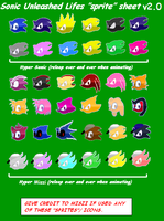 SU lifes sprite sheet v1.2 by Miszi