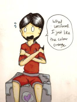 Fail-Chell Likes Orange by Bystander42