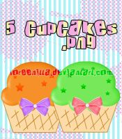 Cupcakes .png by Loreenitta