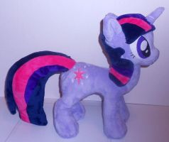 Twilight Sparkle Plush by Sophillia