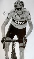 Chris Froome - 2013 Tour de France Winner by Jon-Wyatt