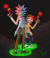 the Genius and the Idiot by tootsietucan