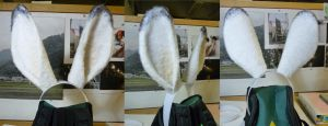 Moogle ears from FFXII by Havenaims