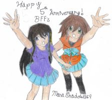 Andrea and Me by ManaShadow369