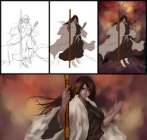Niara Shikai Work in Progress by LarizSantos