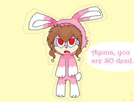 Bunny :D by CaraTheHedgehog