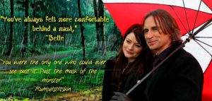 Rumbelle Banner by EmilieBrown
