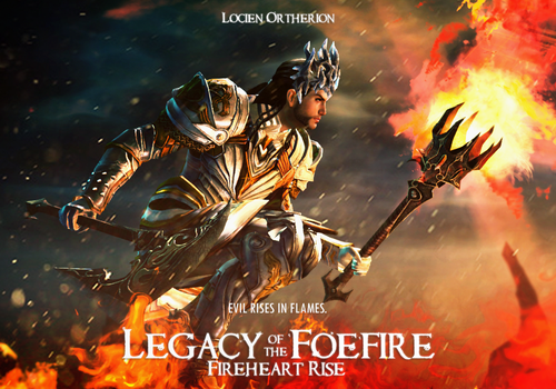 Legacy of the Foefire: Fireheart Rise by rinziel