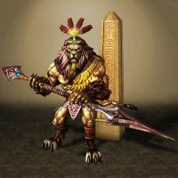 SMITE Anhur by ArmachamCorp