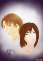 Tidus and Yuna by luzzy