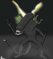 Request Art #2 - Xenomorph from Alien by HashSlash
