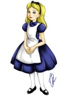 Alice in Wonderland: Alice by Do0dlebugdebz