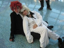 Laying around South Hall by ZexionConvertedSaix