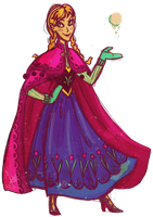Disney Girls Collab: Anna by Wickfield