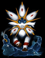 Solgaleo by Alithographica