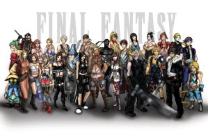 Final Fantasy by OngJ