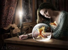Goldfish by AliaChek