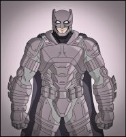 Armored Batman - Dawn of Justice by DraganD