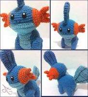 Mudkip by AmiAmaLilium
