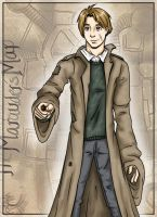 Remus Lupin by aliceazzo