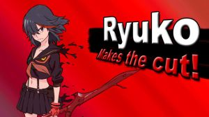 Ryuko for SSB4 by Rylade475