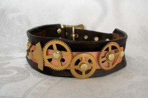 Steampunk Choker, necklace by Macabre151