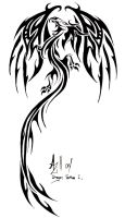 Dragon Tattoo by alwaysandcontinuousl