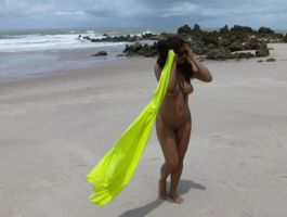 Nude on the beach XIX by Grey8Wolf