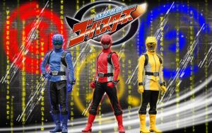 Tokumei Sentai Go-Busters (3 members version) by blakehunter