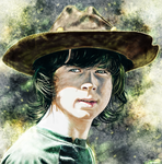 The Walking Dead - Carl Grimes by p1xer