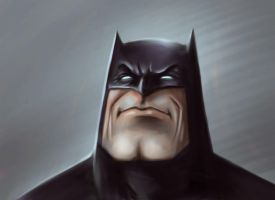Batman Sketch by HaywireVisions