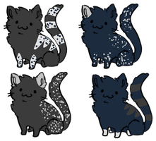 Cat Breeding Results 14 [2/4 OPEN] by redroseadopts