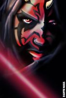 darth maul by sanggara