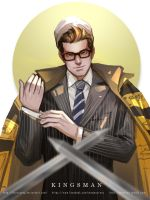 Kingsman Eggsy by maorenc