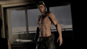 shirtless ellis by WitchyGmod