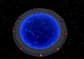 Stargate in space by Ciceroplato