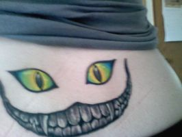 My Cheshire Tattoo by Harlequin-Rose