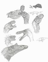 Dino Sketches by Son-of-Italy