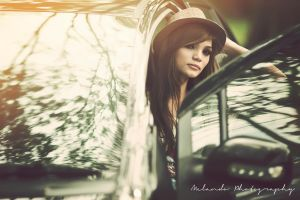 -Looking trough the window- by MelandoPhotography
