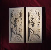 Art Deco Panels by Critchleystone