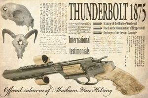 Steampunk:  Thunderbolt 1875 by taiwanboi