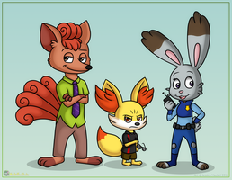 Zootopia Pokemon