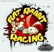 Flat Rabbit Racing Logo by SOSFactory