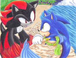 Sonadow: Forbidden Feelings by sonicartist16