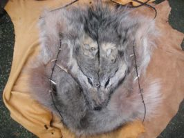Big wolf fur bag 1 by lupagreenwolf